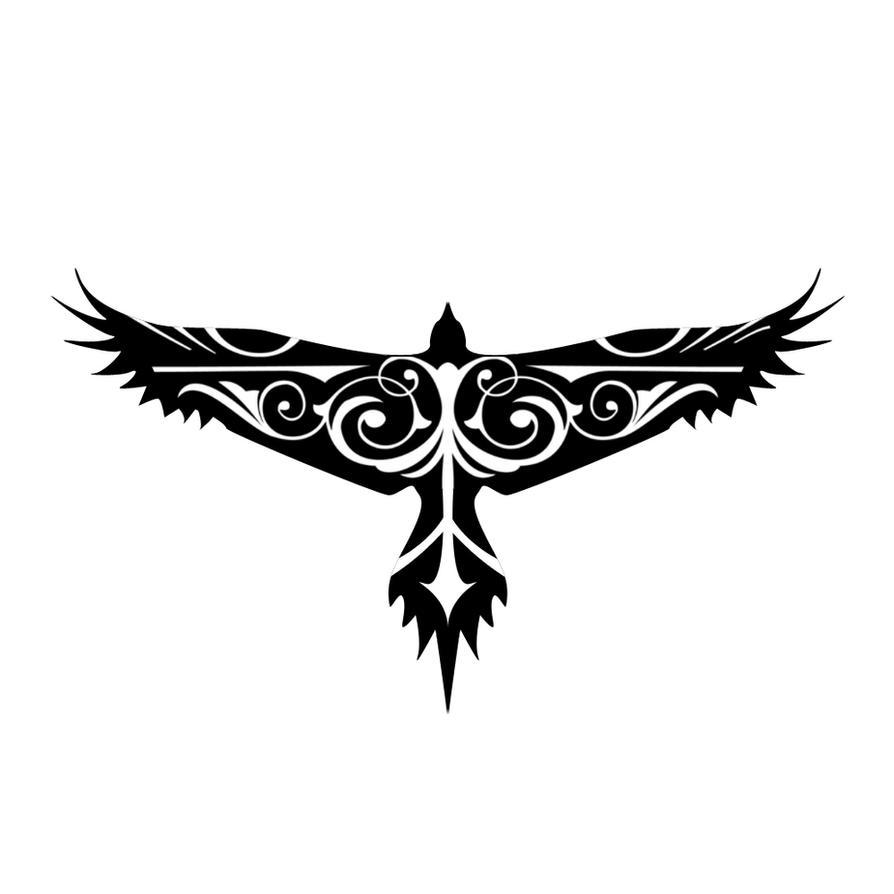 Hawk Tattoo by oooJ03ooo