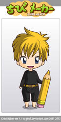 Goldsolace Chibi by derpyhooves4ever