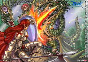 Leonheart vs Gorynych by leon-heARTS
