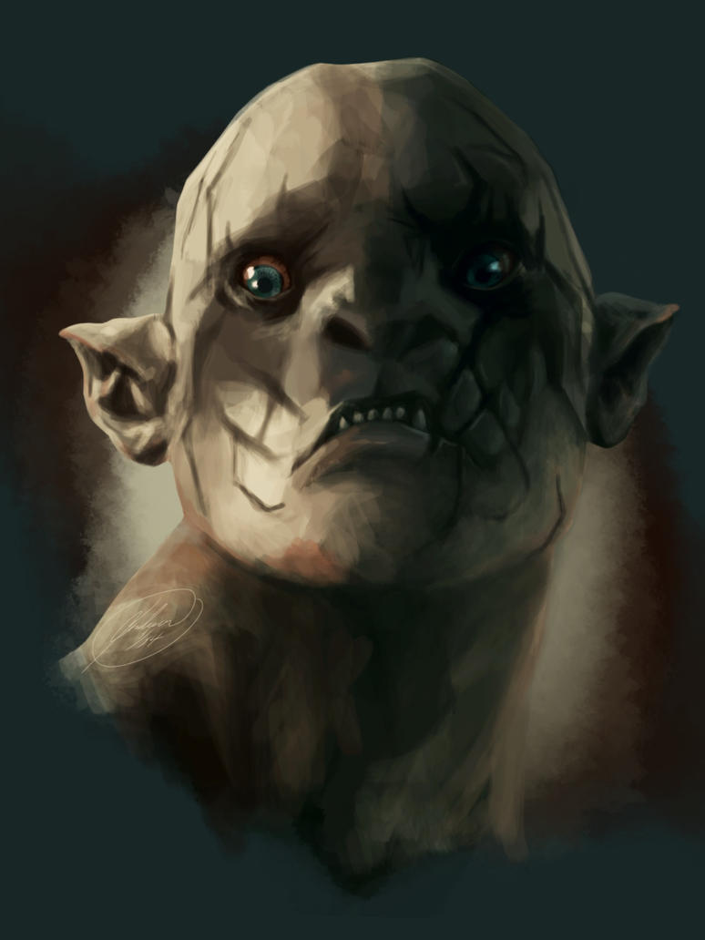 Azog the Defiler by c-jordan