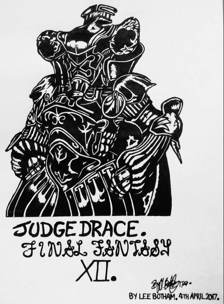 Judge Drace. Final Fantasy XII. by LeeBothamart