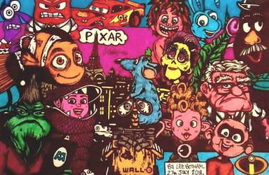 Pixar Collage