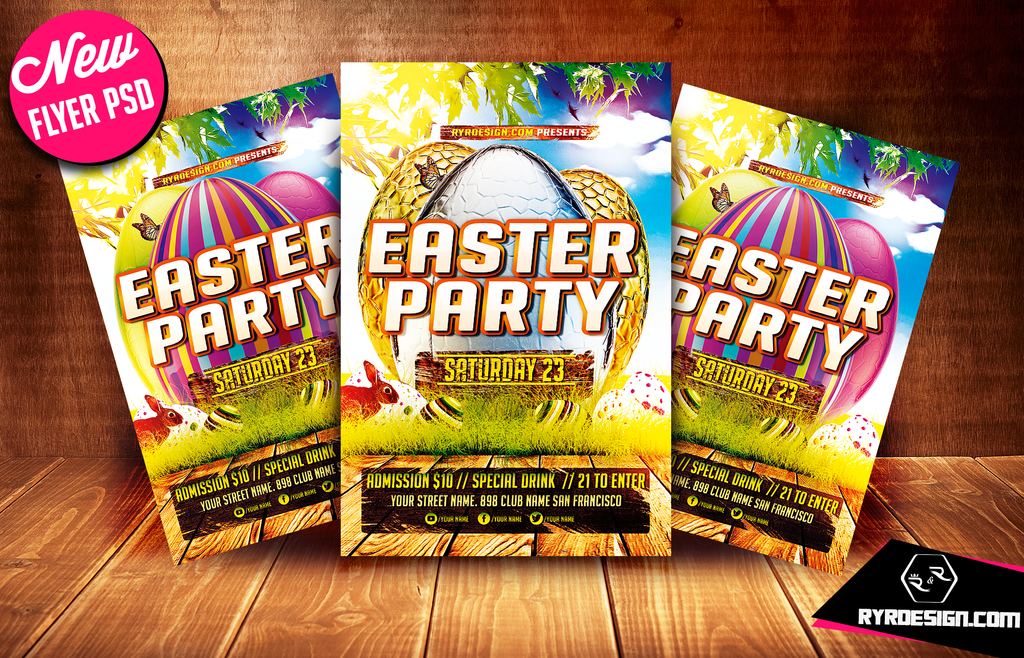 springflyer – Easter Flyer Template