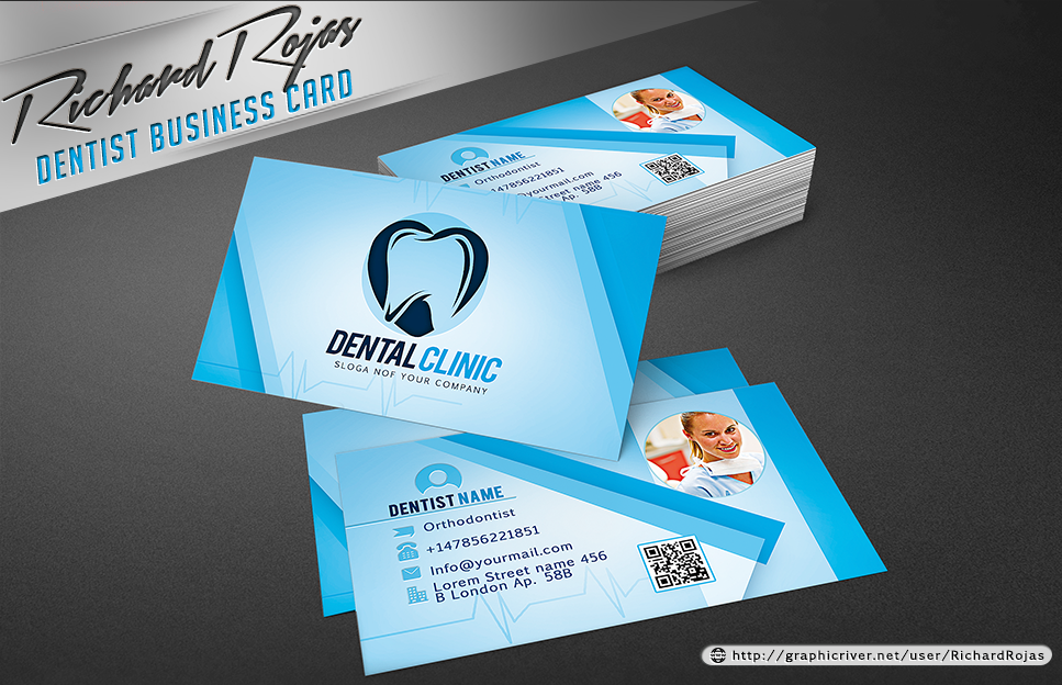 Dentist business card template by ryrdesign on deviantart dentist business card template by ryrdesign cheaphphosting Choice Image