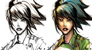 Leona Sketch