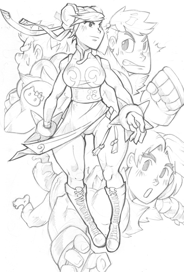 STGCC Original Sketch 01 by smallguydoodle
