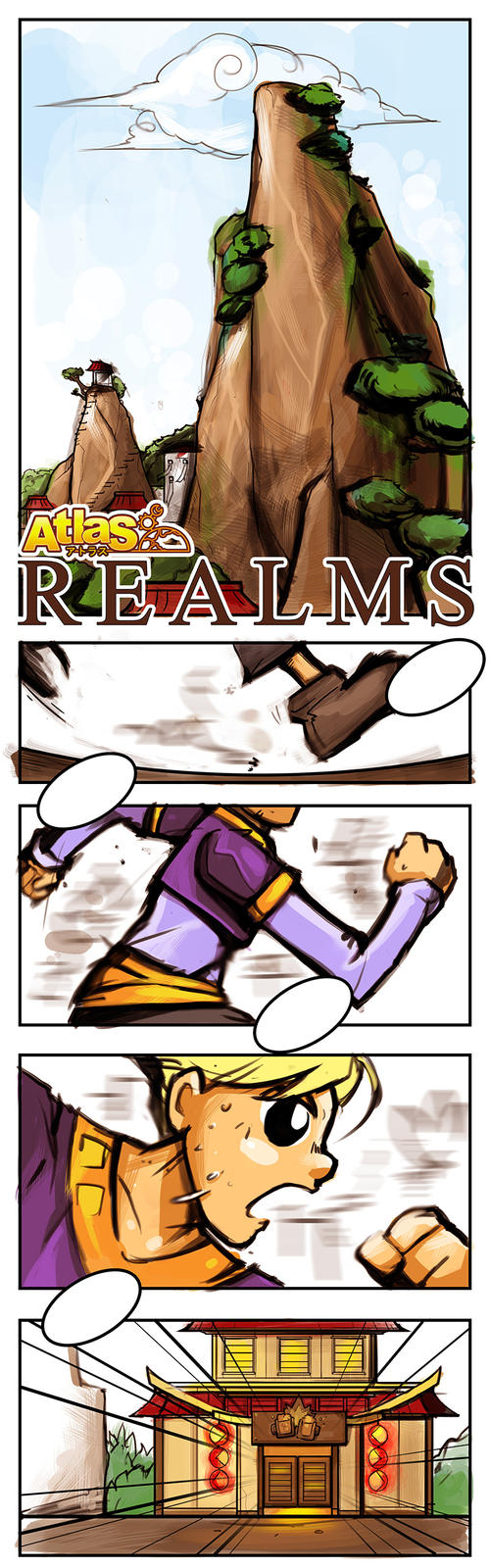 Realms Prelude on WebToons by smallguydoodle