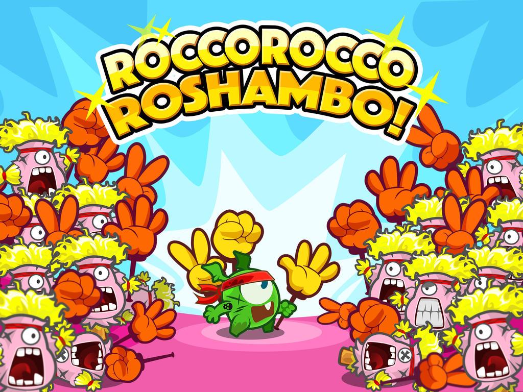 RoccoRocco Roshambo! by smallguydoodle