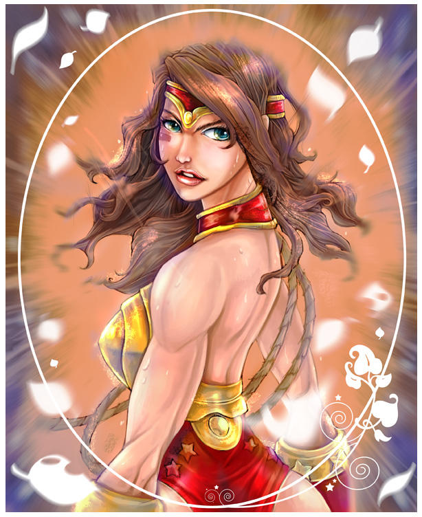 Wonder Woman by smallguydoodle