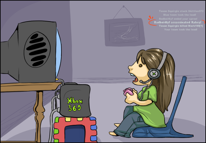 Xbox love by Rahxy