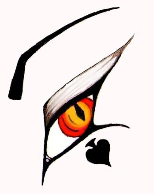 Vampire Anime Eyes Vampire eye tat...