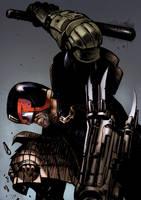 Judge Dredd by bumhand