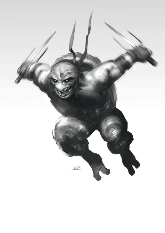 TMNT: Raph by bumhand