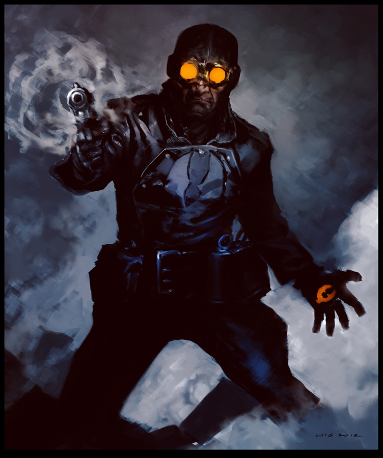 Lobster Johnson by ~bumhand