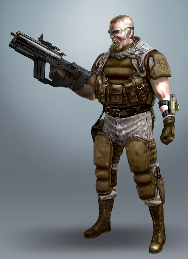 Syndicate Mercenary by bumhand