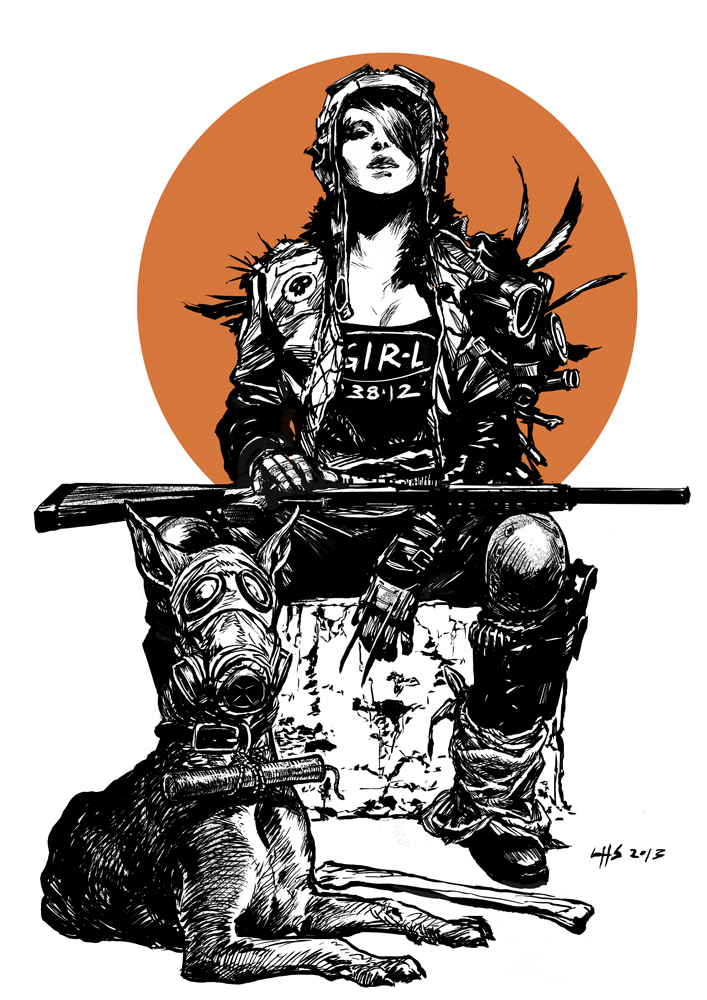 Post apocalyptic 2 - A Girl And Her Dog