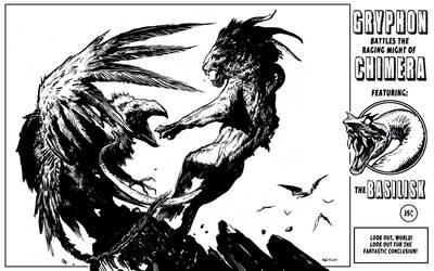 Monster Battle by bumhand
