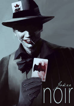 Batman Noir - The Joker
