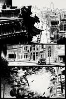 Batman page 1/3 by bumhand