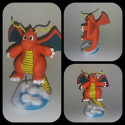 149 - Dragonite figure by Luan-crafts