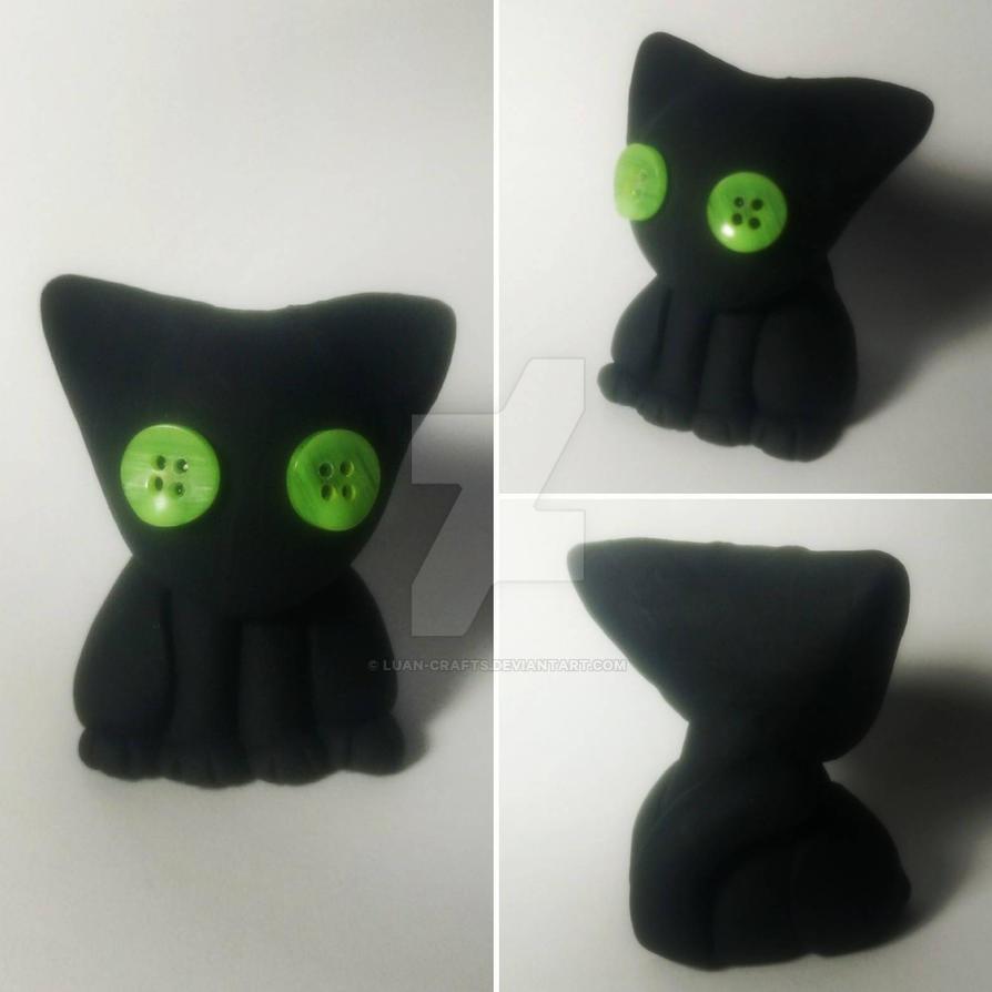 Little black cat by Luan-crafts