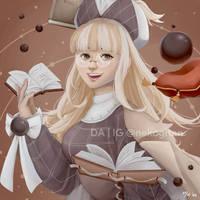 Milk Tea - Food Fantasy by nekogitan