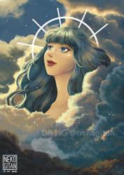 Blue Venus by nekogitan