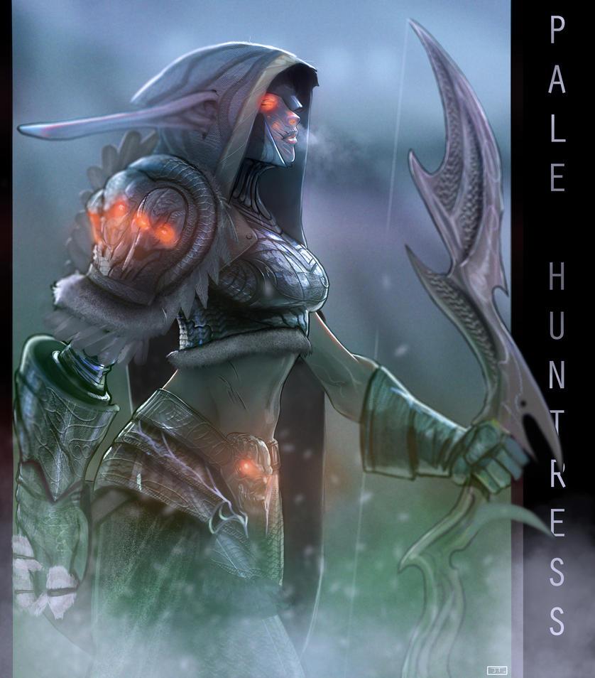 Pale Huntress by jktcomics