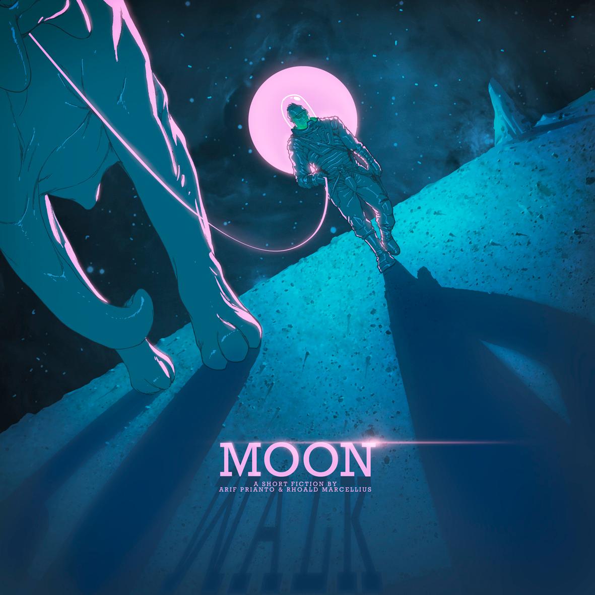 Moon by arf