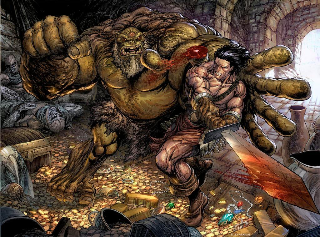 Conan by arf