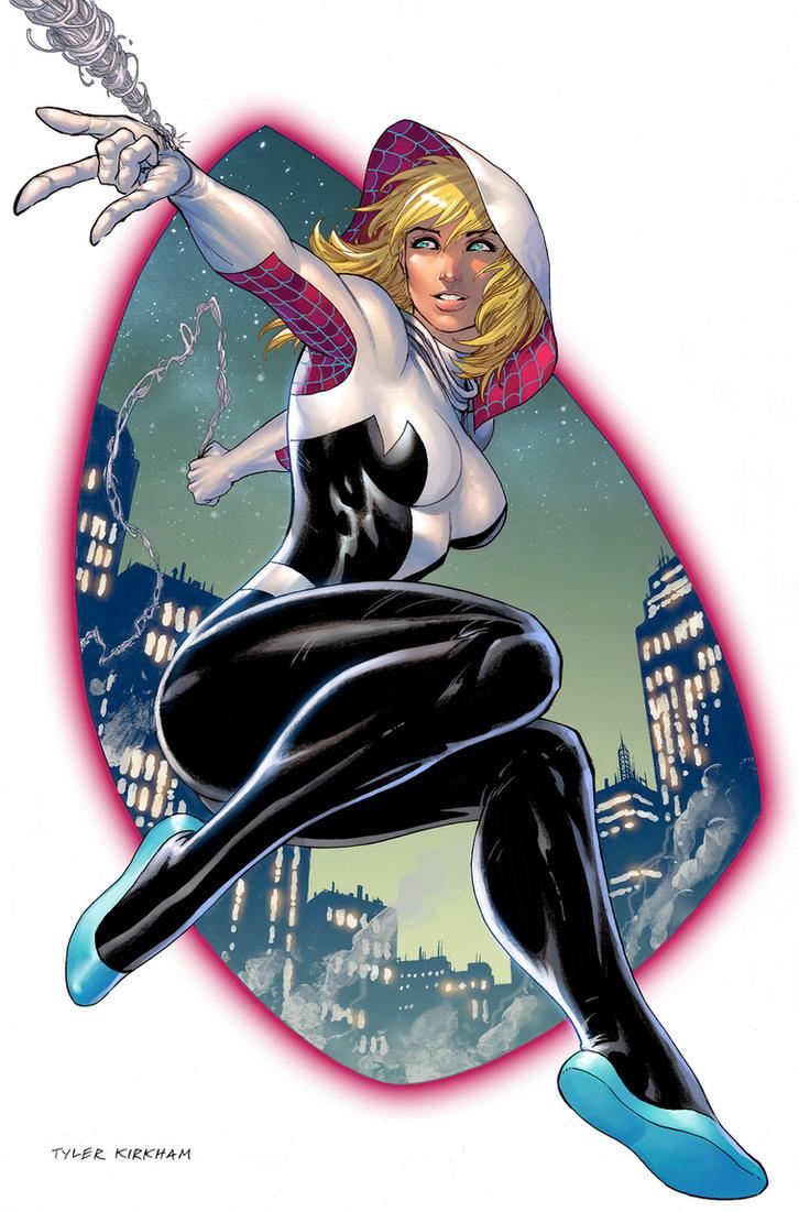Spider Gwen! by arf