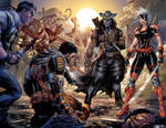 Deathstroke issue 17 spread