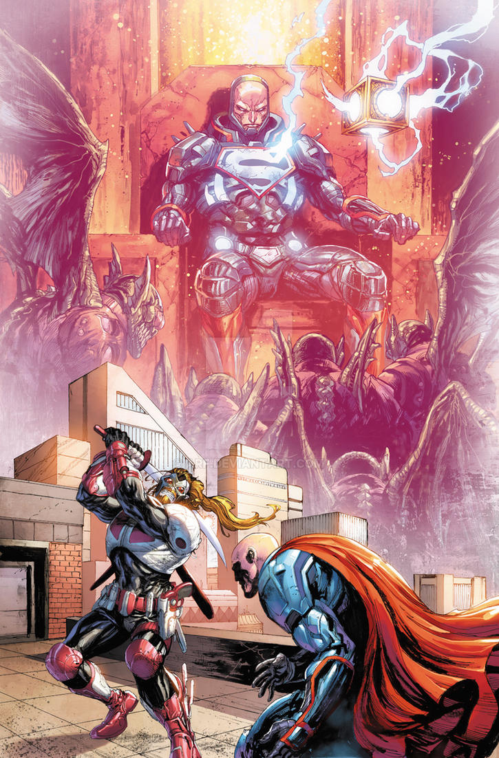 Lex is the new Darkseid by arf