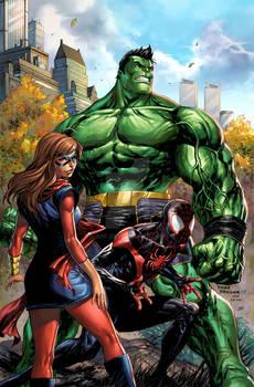 Marvel Champions #1 Variant Cover