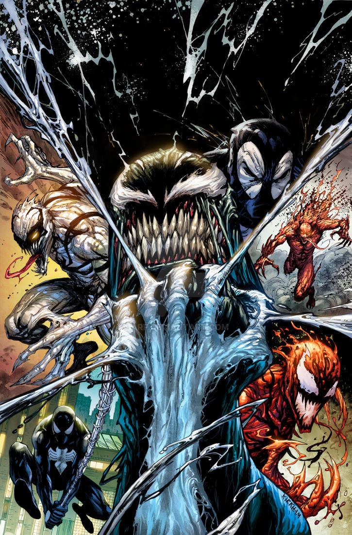 Venom 3 Variant Cover by arf