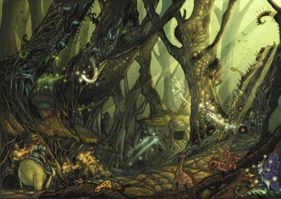 eredin forest