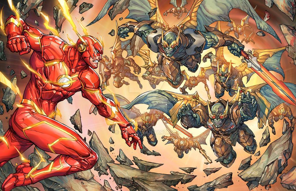 Flash vs Parademons