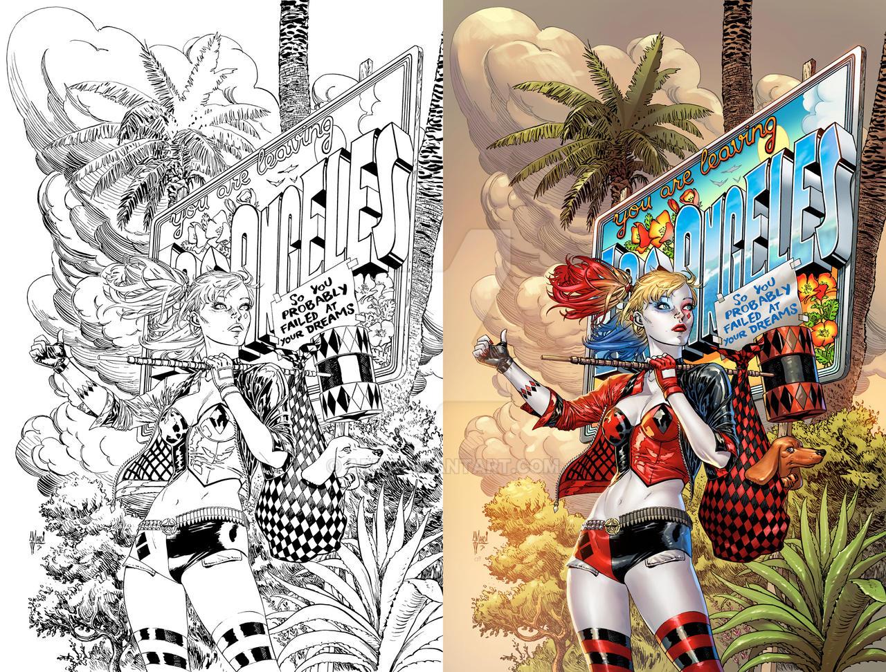 Harley Quinn 74 Cover