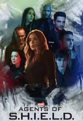 Agents Of Shield - 6 season by MorganGrafics