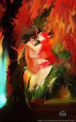 Seasons Kiss by AuroraLaLune
