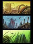 Alien spaceport 01