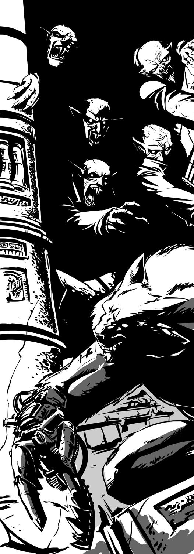 Iron master werewolf by Onikaizer