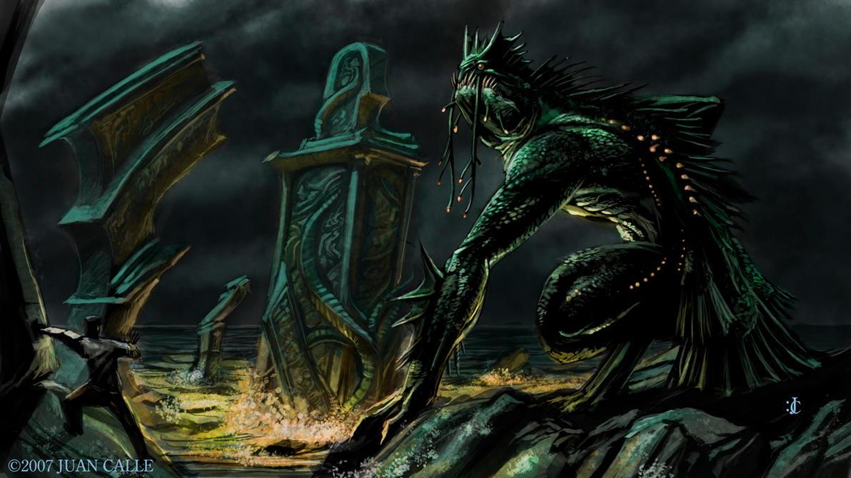 Dagon by Onikaizer