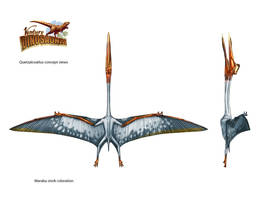 Quetzalcoatlus by Onikaizer