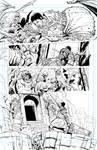 Aquarianna intro page 03 inks