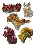 Dragon-heads