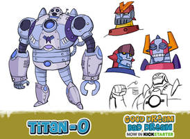 Space defender TITAN-O by Onikaizer