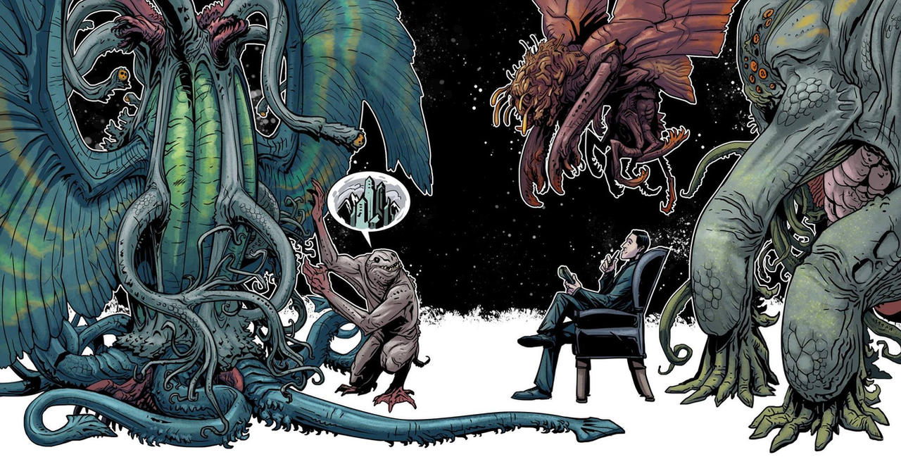 Lovecraft tribute 2014