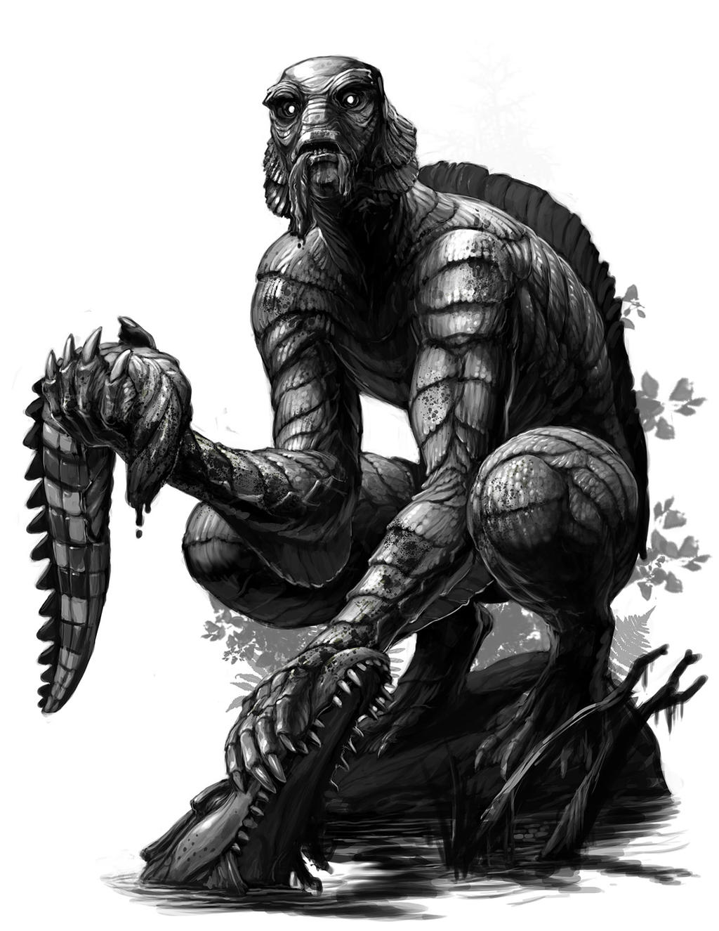 Creature of the Black Lagoon 2015 by Onikaizer on DeviantArt