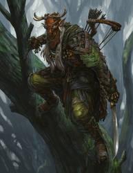 Postapocalyptic elf